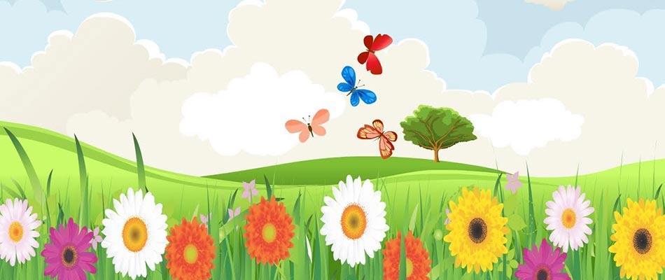 آموزش فصل ها به کودکان (فصل بهار)   فیلم کودک