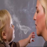 انيميشن نوزاد و سيگار