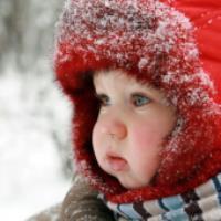 محافظت از پوست کودکان در زمستان