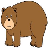 آموزش نقاشي براي کودکان، خرس