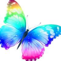آموزش نقاشي براي کودکان، پروانه