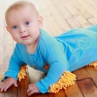 آموزش چهار دست و پا رفتن کودک - تقویت ماهیچه ها