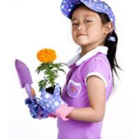 ترغیب کودکان به خوردن غذای سالم با باغبانی