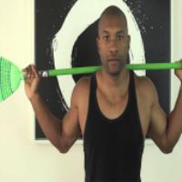 هنگام انجام کارهای منزل هم ورزش کنید!!