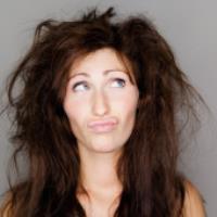 درمان های خانگی موهای خشک و شکننده