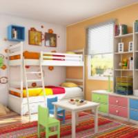 ایده هایی برای اتاق کودک