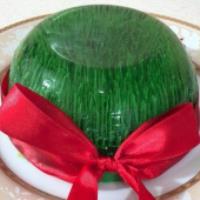 آموزش ژله تزریقی به شکل سبزه عید
