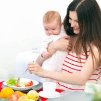 توصیه های تغذیه برای مادران