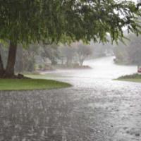 در هنگام بارش باران بهتر است بدویم یا راه برویم