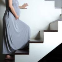 پله رفتن در بارداری