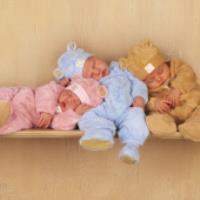 وضعیت مناسب برای خواب نوزادان