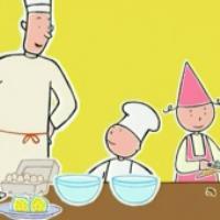 آموزش کیک هویج (کارتون کودک)