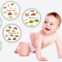 ویتامین های موردنیاز نوزادان