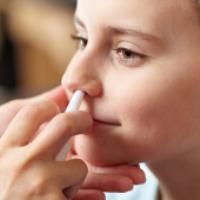 استفاده از قطره و اسپری بینی