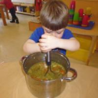 آموزش آشپزی، سوپ کودک