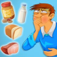 تفاوت آلرژی با عدم تحمل غذایی