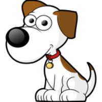 آموزش نقاشی برای کودکان، سگ