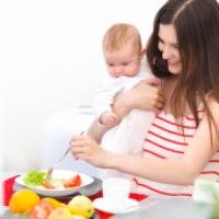 رژیم برای مادران شیرده