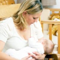 چگونگی تولید شیر مادر