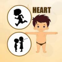 معرفی اعضای بدن برای کودکان (قلب)